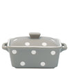 OVEN CASSEROLE WITH LID Warm Grey