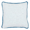 CUSHION COVER Quilted Spot Indigo