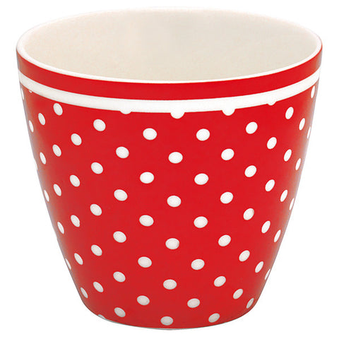 LATTE CUP Spot Red