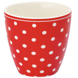 LATTE CUP MINI Spot Red