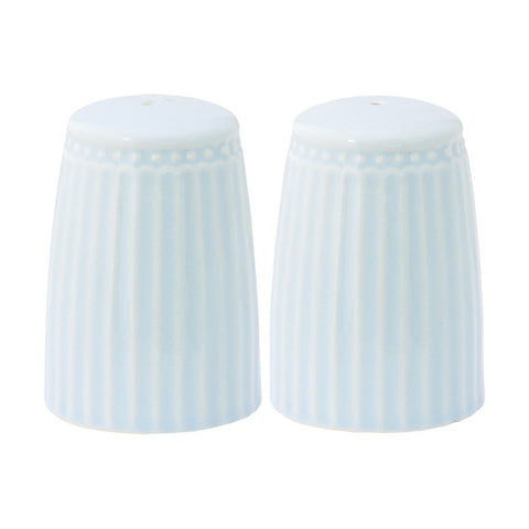 SALT AND PEPPER SET Alice Pale Blue