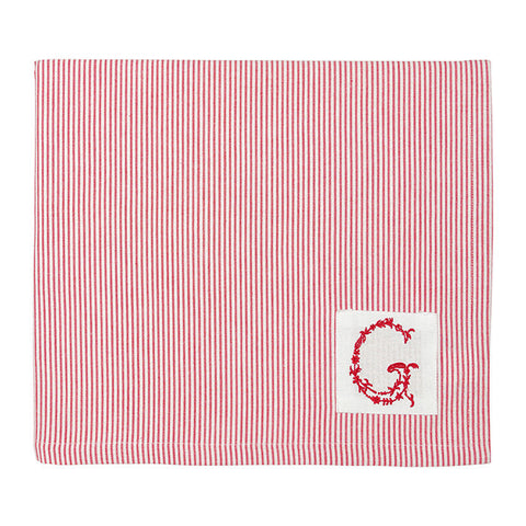 PLACEMAT Thea Red with G