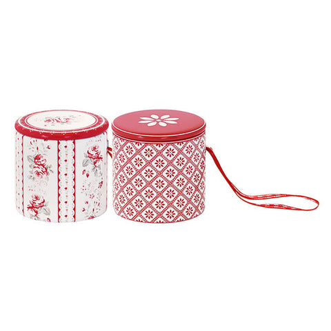 TIN DRUM Vilma Red Set of 2