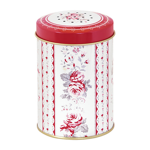 TIN SUGAR SHAKER Vilma Red