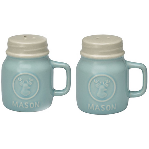 SALT AND PEPPER SET Maison Blue