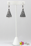 LUVGYPSY | Pyramid Earrings