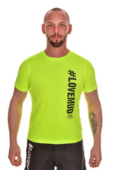 Mens Hi-Viz #LoveMud Technical T-shirt