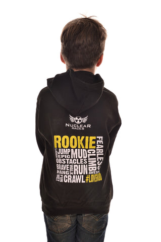 Kids Black Nuclear Races Rookie Hoodie Clearance 50% off