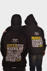 Kids Black Nuclear Races Rookie Hoodie Clearance 30% off