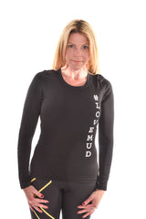 Ladies Nuclear Races Black Baselayer
