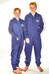 NEW Kids Navy Nuclear Races Onesie