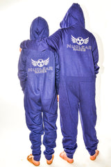 Kids Navy Nuclear Races Onesie
