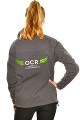 OCR World Championships Ladies Grey Soft Shell Jacket