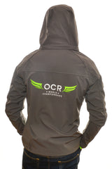 OCR World Championships Mens Grey Soft Shell Jacket