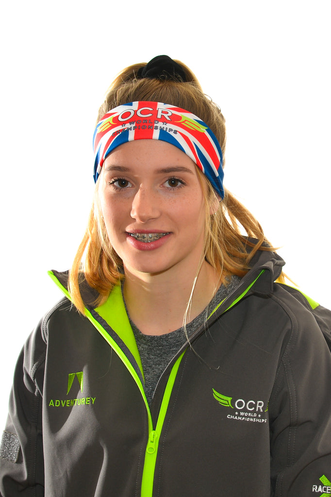OCR World Championships Union Jack Headband