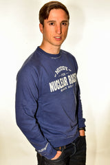 Mens Blue 'Muddy Fun' Jumper Clearance 60% off