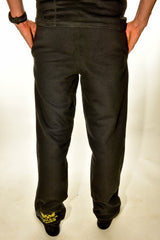 Mens Black Nuclear Races Jogging Bottoms