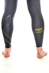 Mens 2XU Nuclear Races Compression Tights