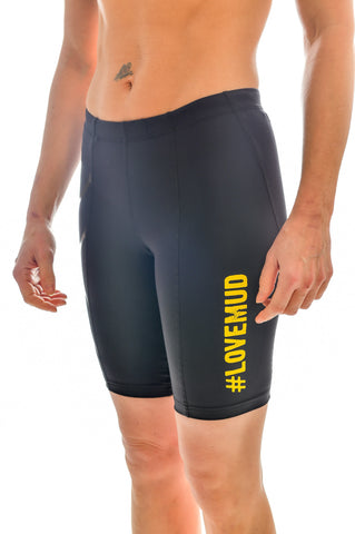 Ladies 2XU Nuclear Races Compression Shorts