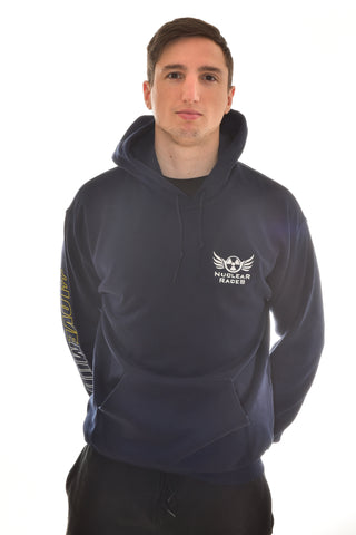 NEW Navy Unisex Nuclear Races Hoodie