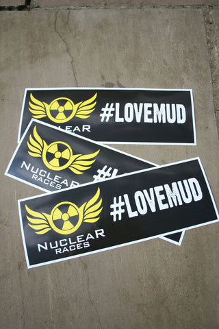 Nuclear Races Carstickers