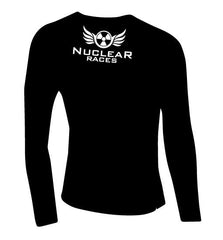 Mens Nuclear Races Black Baselayer