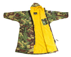 Nuclear Races branded Camouflage Long Sleeved Dryrobe