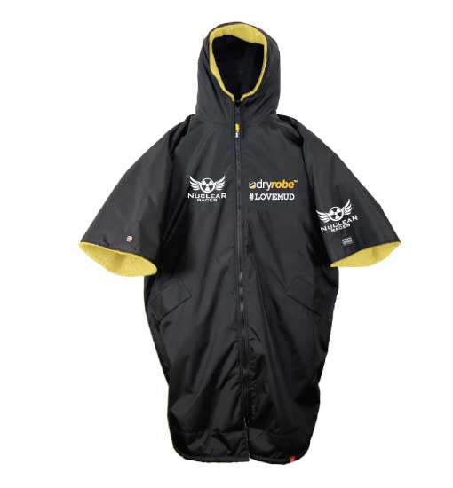 Clearance Old Style 3/4 sleeve Nuclear Races branded Dryrobe Advance
