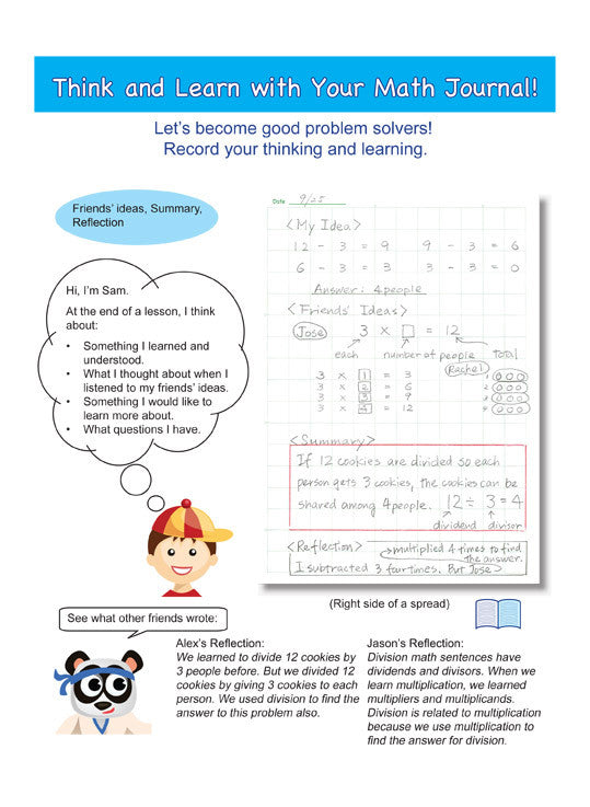 Grade 3 Math Journal & Workbook