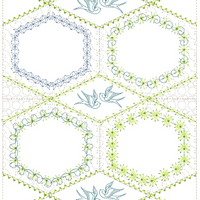 Secret Garden Large Hoop Multiples 160x260