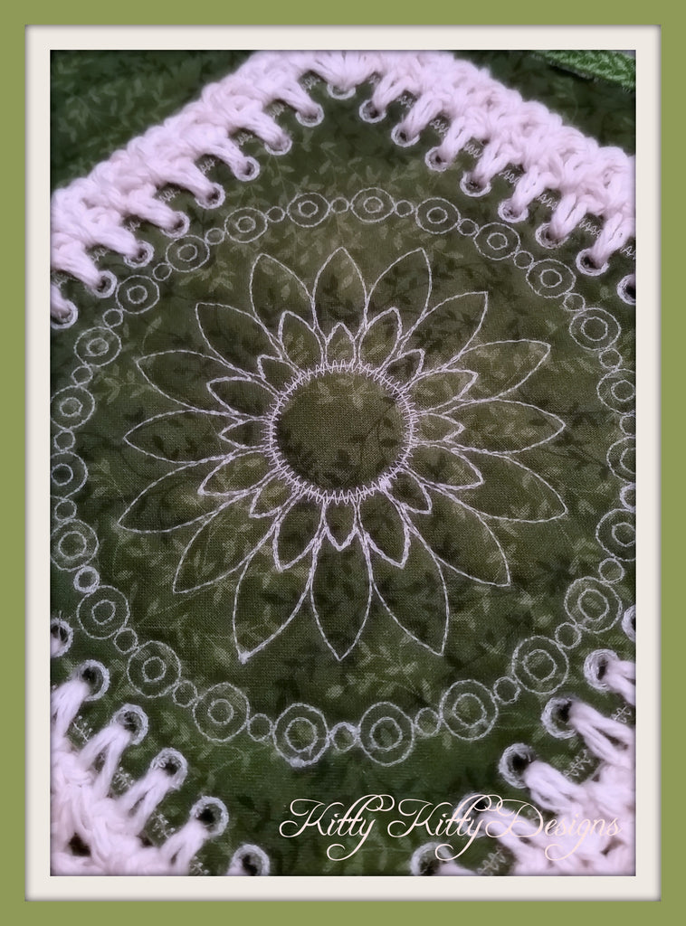 Fusion Quilt - Daisy 5x5
