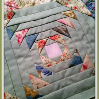 Pineapple Quilt Block 8X8