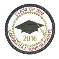 Class of 2016 Graduation Patch