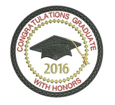 Class of 2016 Honors Graduation Patch