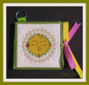 Sunshine Sticky Notes Notepad Cover