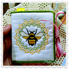 Honey Bee Sticky Note Notepad Cover