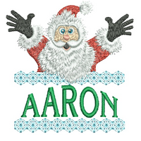 Surprise Santa Name - Aaron