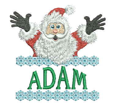 Surprise Santa Name - Adam