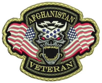 Afghanistan Veteran Patch