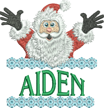 Surprise Santa Name - Aiden