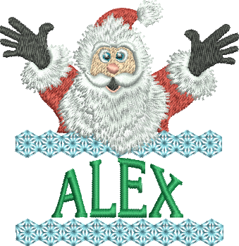 Surprise Santa Name - Alex