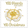 All Hearts Point North At Christmas 5x7