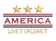 America - Love It or Leave It 8x8