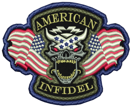 American Infidel Patch