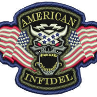 American Infidel Stitched Patch