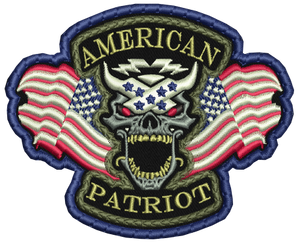 American Patriot Patch