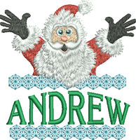 Surprise Santa Name - Andrew