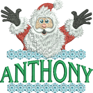 Surprise Santa Name - Anthony