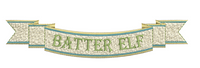 Santa Elves 3 Name Plate Banners
