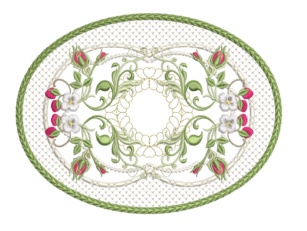 Berries & Blossoms Mug Mat - 5x7